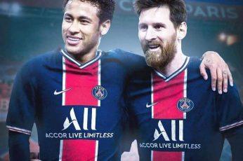 Messi PSG Neymar Wallpaper