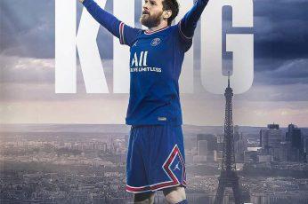 Messi Paris Saint Germain Wallpaper, Behold The King