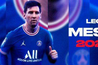 Messi Paris Saint Germain Wallpaper, 2023