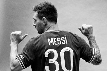 Messi Paris Saint Germain Wallpaper 2021