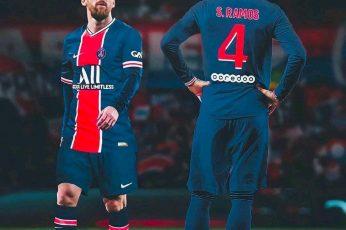 Messi Ramos PSG Wallpapers