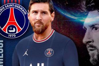 Wallpaper Messi Paris Saint Germain