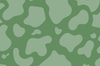 Wallpaper Sage Green Cow Print Aesthetic Pattern Sage Green