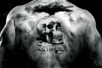 Wallpaper Back, Expendables, Man, Movie, Raven