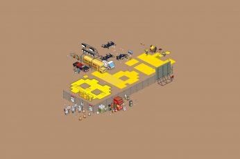 Wallpaper 8 Bit Clip Art, Pixels, Pixel Art, Workers, 8 Bit