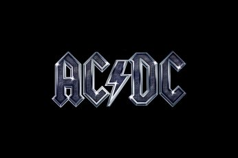 Wallpaper AcDc High Voltage, Ac Dc Logo, Music, Rock, Acdc