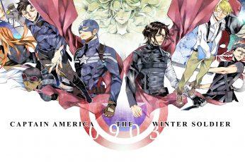 Wallpaper America, Avengers, Barnes, Black, Buchanan