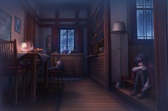 Wallpaper Anime, Anime Girls, Original Characters, Room