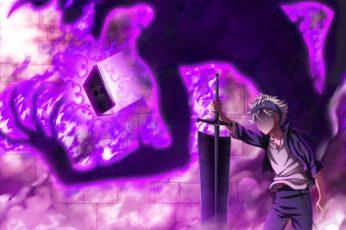 Wallpaper Anime, Black Clover, Asta Black Clover