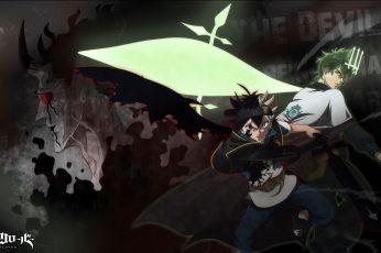 Wallpaper Anime, Black Clover, Asta Black Clover, Yuno
