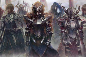 Wallpaper Anime, Crossover, Bedivere FateGrand Order