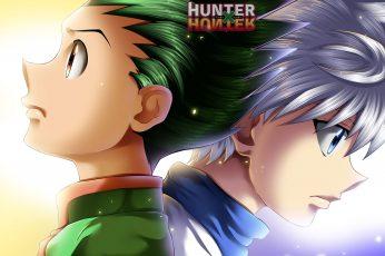 Wallpaper Anime, Hunter X Hunter, Gon Css, Killua Zoldyck