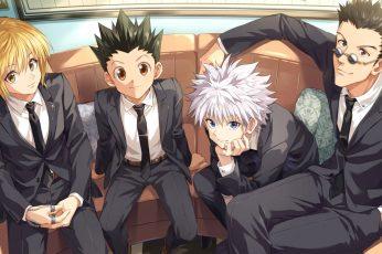 Wallpaper Anime, Hunter X Hunter, Gon Freecss, Killua Zold