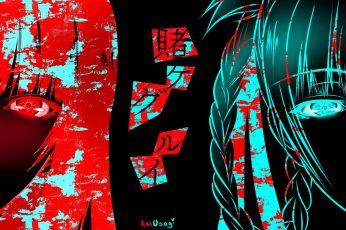 Wallpaper Anime, Kakegurui, Yumeko Jabami
