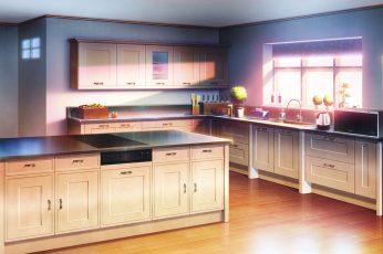 Wallpaper Anime, Original, Kitchen, Room