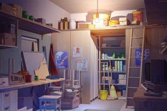 Wallpaper Anime, Room