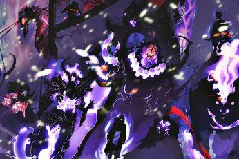 Wallpaper Anime, Solo Leveling, Sung Jin Woo