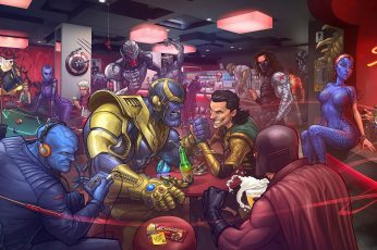 Wallpaper Anime X Men Comics Loki The Mandarin Bucky Barnes