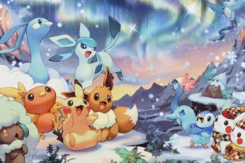 Assorted Characters Pokemon Wallpaper, Pokémon