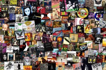 Wallpaper Assorted Title Vinyl Sleeve Lot, Music, Rock Bands