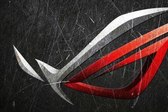Wallpaper Asus, Republic Of Gamers, Rog, Logo, Technology