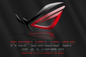 Wallpaper Asus Republic Of Gamers Wallpaper, Brand, Rog
