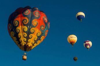Wallpaper Balloon, Tie Dye, Albuquerque, Fiesta, Mexico