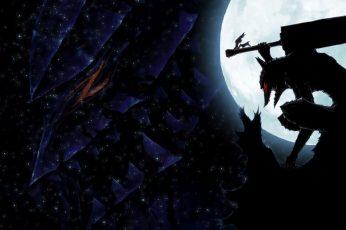 Wallpaper Berserk, Anime, Cool, Badass, Silhouette