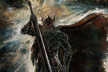 Wallpaper Berserk, Berserk Armor, Guts