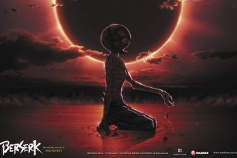 Wallpaper Berserk, Griffith, Eclipse , One Person