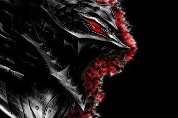 Black And Red Wallpaper, Berserk, Armor, Artwork