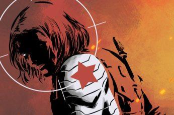 Wallpaper Comics, Winter Soldier, Bucky Barnes, Marvel Comic