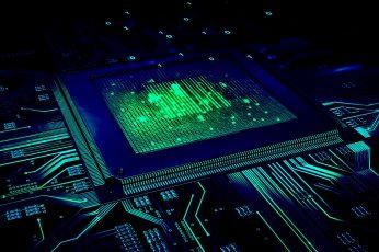 Wallpaper Cpu, Motherboard, Geek, Electrical Network