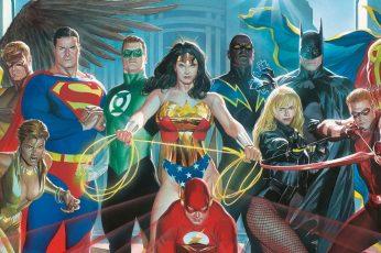 Dc Comics Justice League Wallpaper, Alex Ross