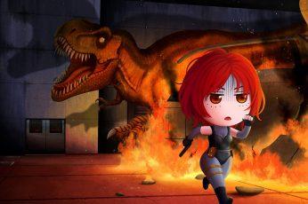 Wallpaper Dino Crisis, Regina Dino Crisis