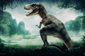 Wallpaper Dino History Hd, Creative, Graphics, Creative