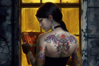 Wallpaper Fantasy, Tattoo