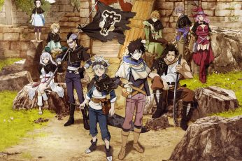 Fictional Characters Wallpaper, Anime, Black Clover