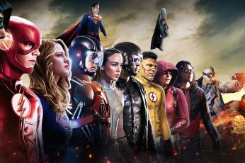 Wallpaper Firestorm, Dc Comics, White Canary, Arrow, Atom