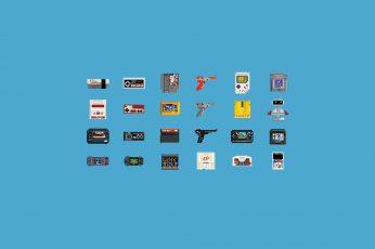 Wallpaper Game Consoles Clip Art, Video Games, Pixel Art
