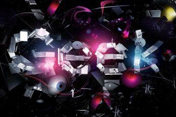 Geek Digital Wallpaper, Digital Art, Night, Tech