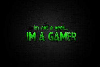 Wallpaper Green Video Games Black Geek Nerd Scratches Game