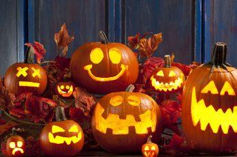 Wallpaper Halloween, Pumpkin, Calabaza, Decoration