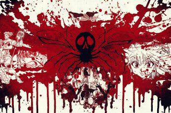 Hunter X Hunter Wallpaper, Anime, Red, Art