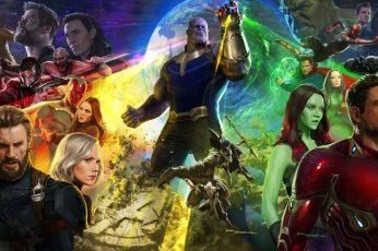 Wallpaper Marvels Avengers Movie Poster, Avengers Infinity