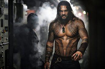 Wallpaper Men, Movies, Aquaman, Jason Momoa, Tattoo