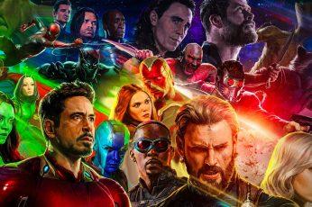 Wallpaper Movie, Avengers Infinity War, Anthony Mackie