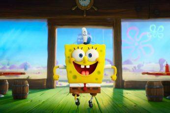 Wallpaper Movie, The Spongebob Movie Sponge On The Run