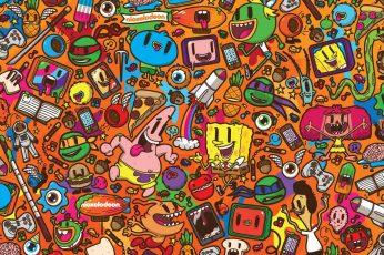 Wallpaper Patrick Star, Nickelodeon, Spongebob, Squarepant