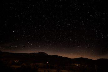Wallpaper Photo Of Starry Night, Stars At Night, Sky, Dark